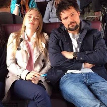Оксана Акиньшина и Данила Козловский