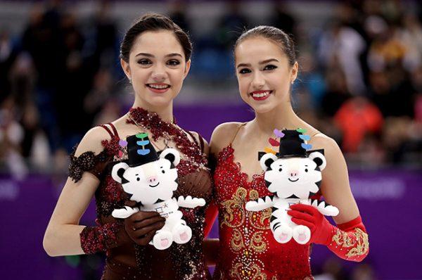 Евгения Медведева, Алина Загитова