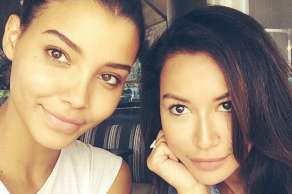 Ная Ривера с сестрой Никейлой