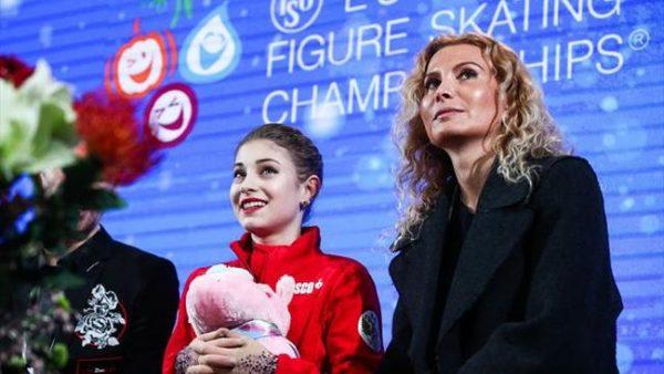 Алена Косторная ждет результатов выступления в компании бывшего тренера Этери Тутберидзе