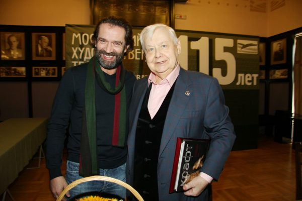 Олег Табаков, Владимир Машков