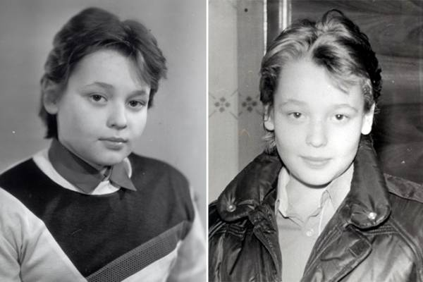 Сергей Жуков в юности