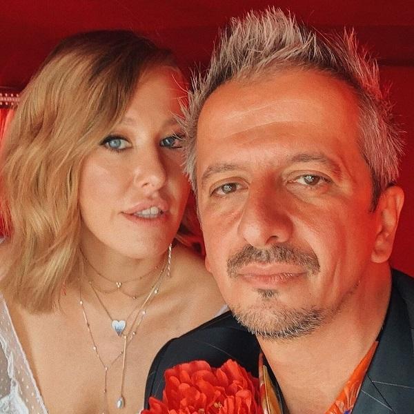 Ксения Собчак с мужем Константином Богомоловым