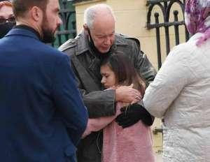 Владимир Конкин с внучкой Алисой