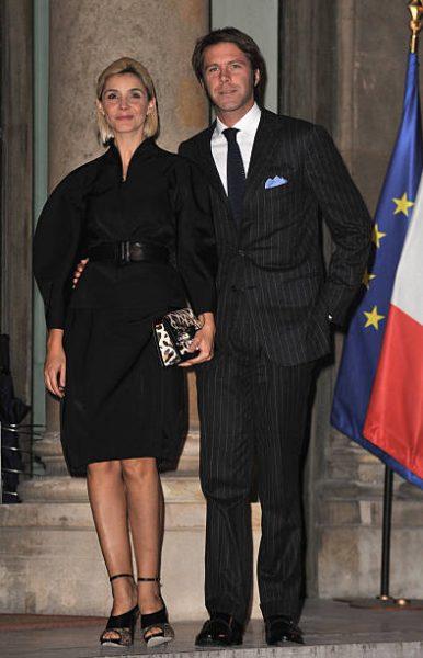 с мужем принцем Эммануэлем