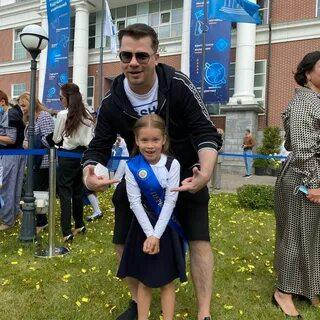 Гарик Харламов - счастливый отец первоклашки