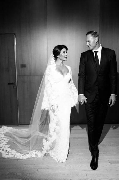 Анна Седокова с мужем Янисом Тиммой