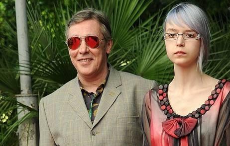 Михаил Ефремов с дочкой Анной-Марией
