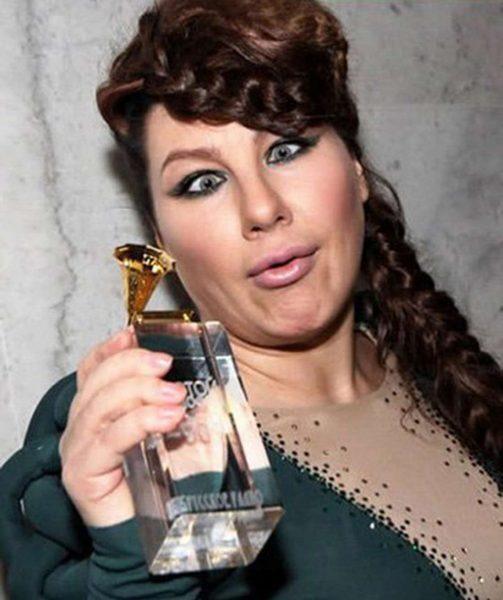 Ева Польна получила награду