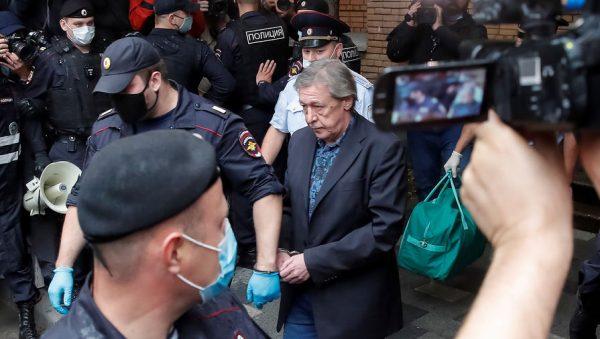 Михаил Ефремов после оглашения приговора