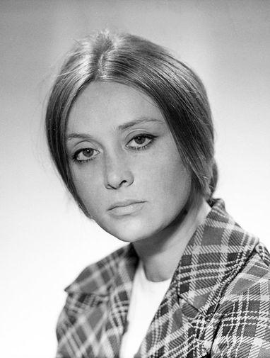 Маргарита Терехова в молодости
