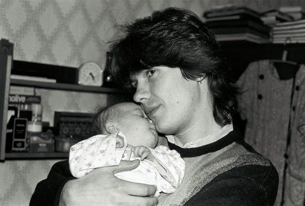 Сергей Чиграков с дочерью