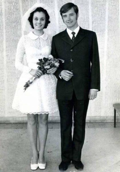 Свадебное фото Любови Полищук