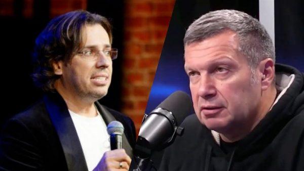 Максим Галкин против Владимира Соловьева