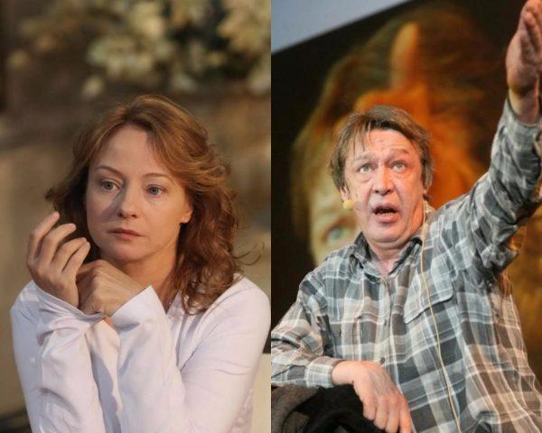 Михаил Ефремов и Евгения Добровольская