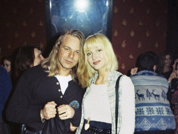 Владимир Пресняков и Кристина Орбакайте в обнимку