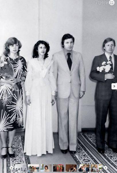 Свадебное фото Льва Лещенко