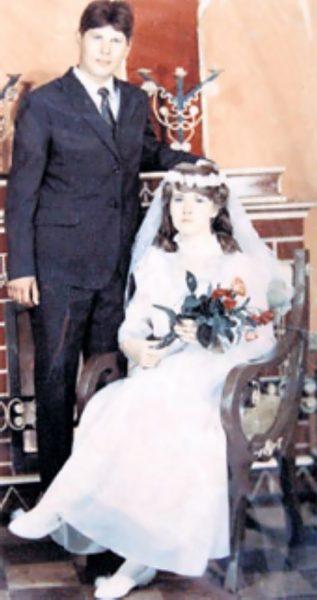 Свадебное фото Юрия Хоя