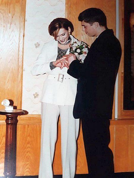 Свадебное фото Сергея Бодрова-младшего