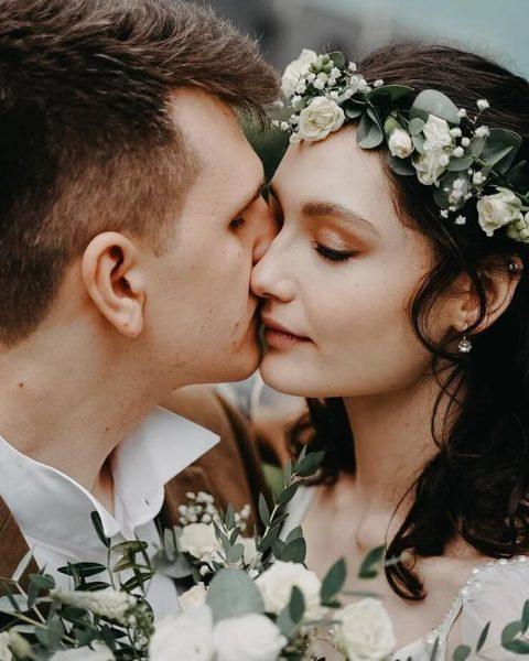 Мария и Никита на свадебной фотосессии