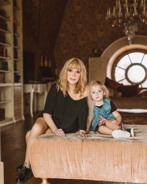 Пугачева и её дочь Лиза