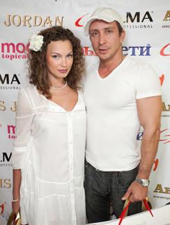 Данко с бывшей женой Натальей