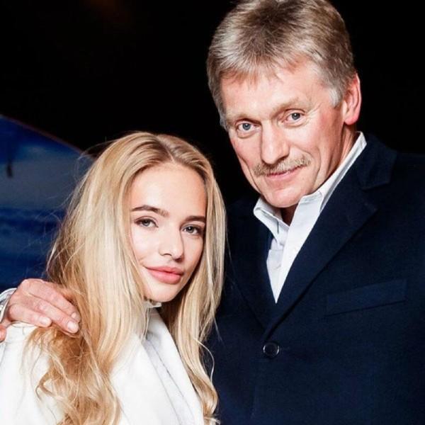 Фотография Пескова со своей дочкой