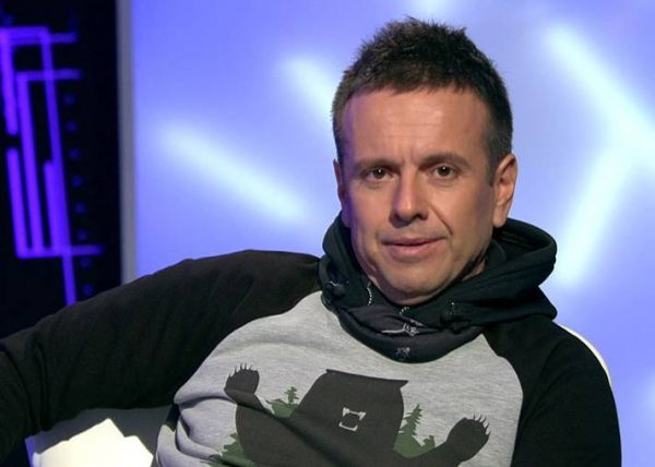 Андрей Губин на телепередаче