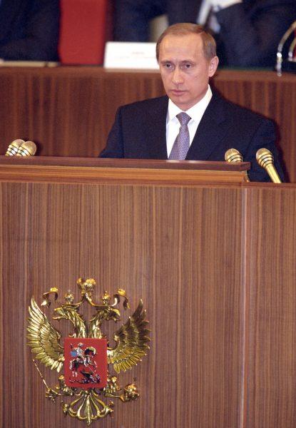 Путин вступает в должность и.о Президента Рф