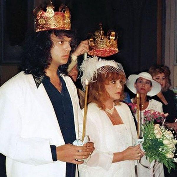 Венчание Пугачевой и Киркорова