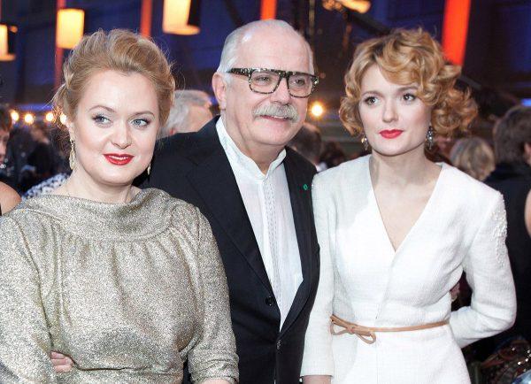 Никита Михалков и его дочери