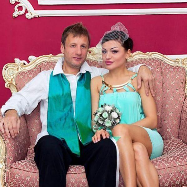 Дидюля с бывшей женой Евгенией
