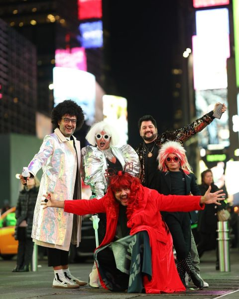 Киркоров с друзьями празднует Хэллоуин