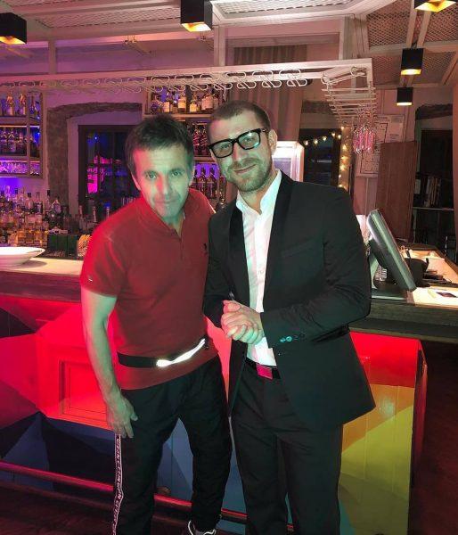 Андрей Губин и Илья Бардо в недавнем времени вместе на мероприятии.