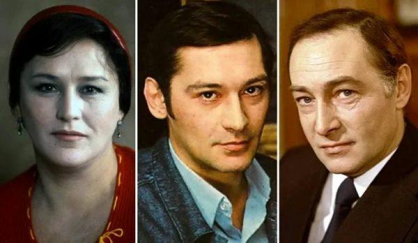 Вячеслав Тихонов, Нонна Мордюкова и их сын Владимир