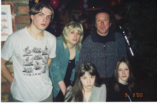 Владимир Кузьмин и его дети