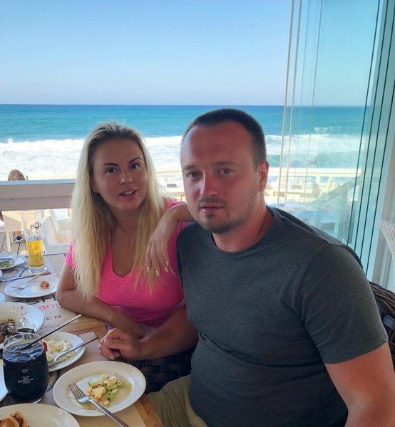 Анна Семенович с братом Кириллом