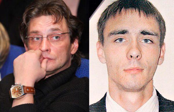Александр Домогаров и его сын Дмитрий