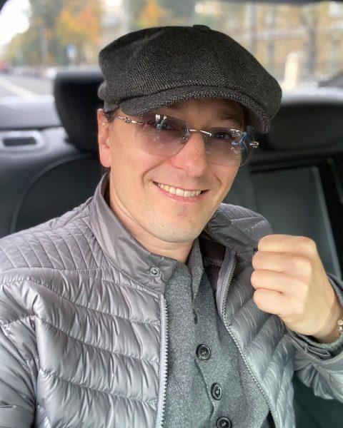 Сергей Безруков показал сына