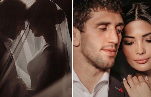 Мадина Плиева и Заур Сидаков, свадьба