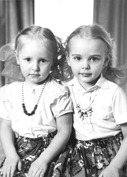 Катя и Маша Путины