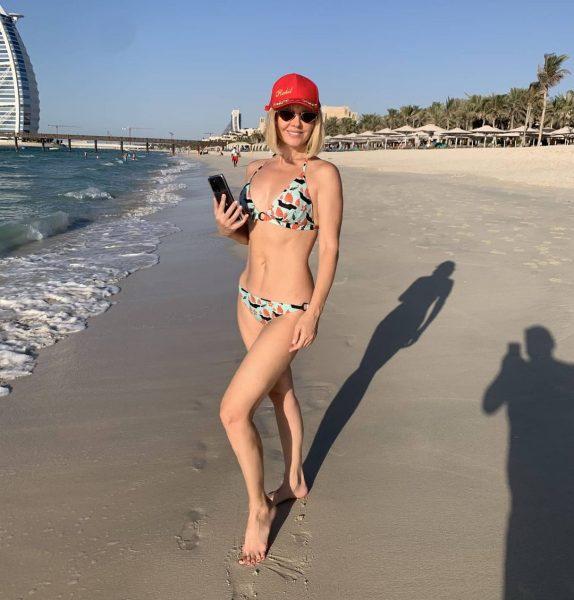 Валерия на отдыхе в ОАЭ