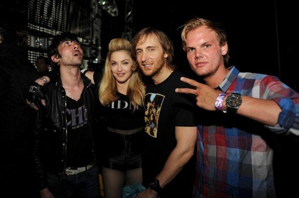Мадонна и Дэвид Гетта, тот самый Скорпион