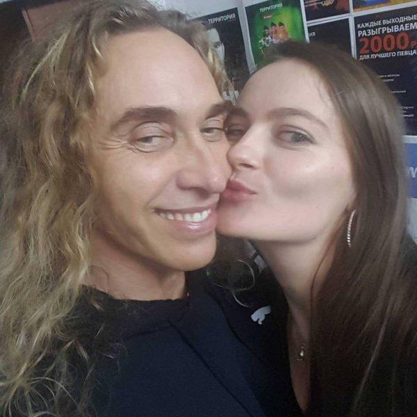 Поцелуй Тарзана с Шульженко