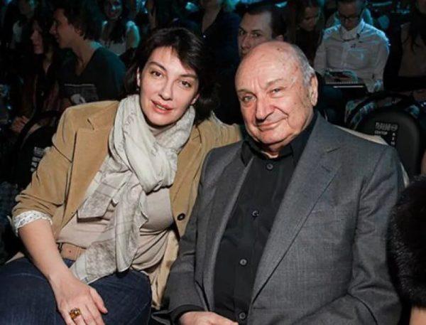 Михаил Жванецкий с последней женой