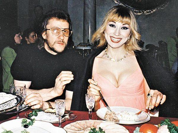 Маша Распутина и Владимир Ермаков