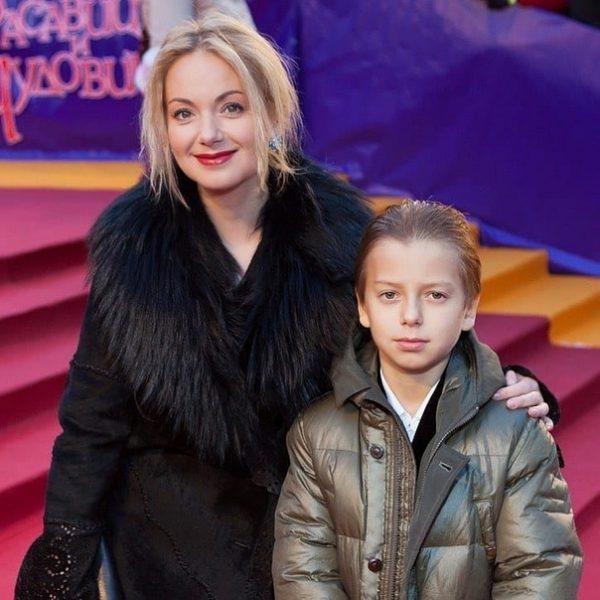 Ольга Будина с сыном