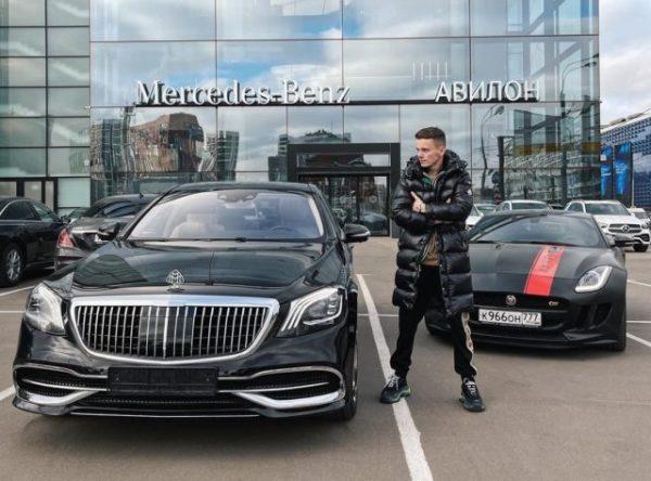 Арсений Шульгин и машина