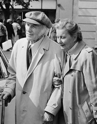 Игорь Ильинский и Татьяна Еремеева, 1986 год