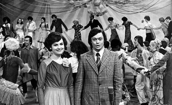 Николай Караченцов и Татьяна Грушина